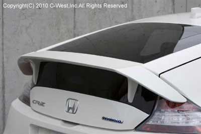 Honda Cr Z Zf1 Rear Spoiler Frp